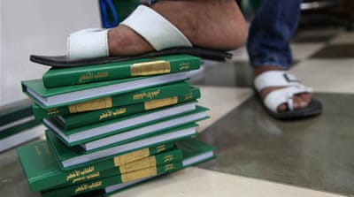 Libyans turn page on Gaddafi's 'Green Book'