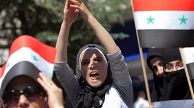 Deaths reported as Syrians stage protests
