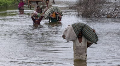 Pakistan swamped by severe flooding