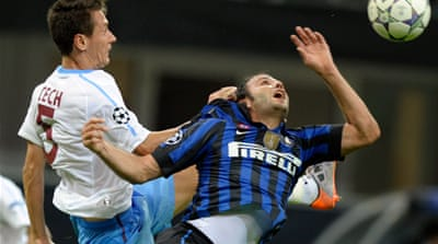 Trabzonspor stun Inter at home