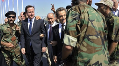 French and UK leaders welcomed in Tripoli