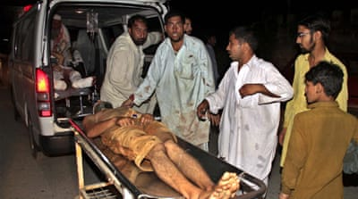 Deadly blast at funeral in Pakistan