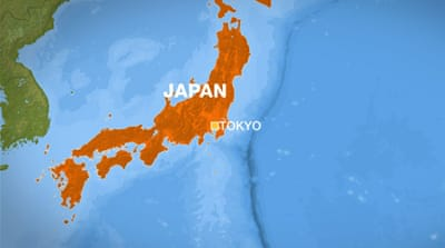 Earthquake off northeast Japan