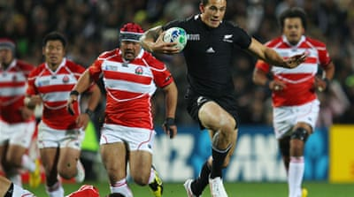 Lucky number 13 for All Blacks