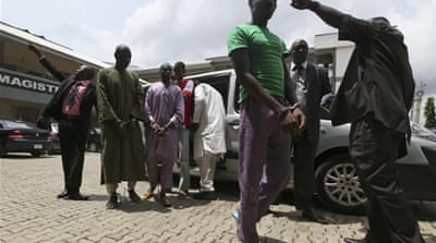 Suspects charged in Nigeria bombing