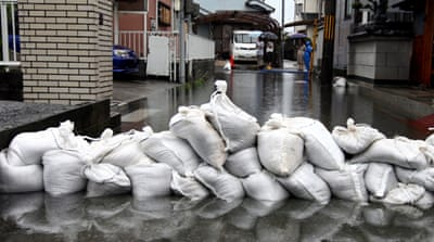 Japan braced for double typhoon hit