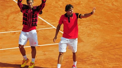 Argentina and Spain meet in Davis Cup final