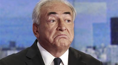 Strauss-Kahn's lawyers requested to stop an inquiry into claims that he arranged sex parties with prostitutes [AFP]