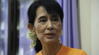 Suu Kyi sees 'positive' change in Myanmar