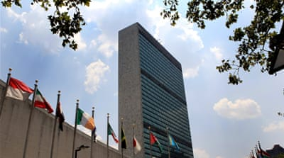 What are the PLO's options at the UN?