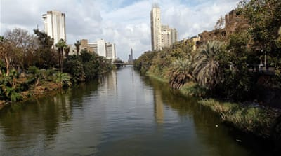 Water under the bridge over the Nile