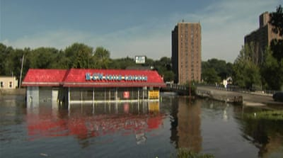 New Jersey town reeling from Irene