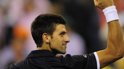 Djokovic dominant in second round