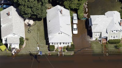Many US homes still without power after Irene