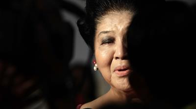 Imelda Marcos: '... judged until infinity'