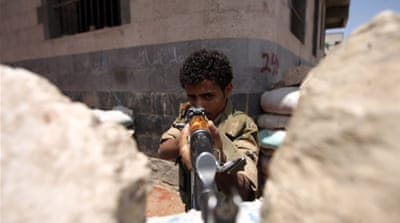 Deadly fighting rages through Yemeni capital