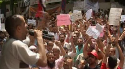 Egypt concern over public sector strike