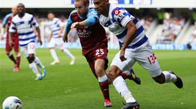 QPR snatch late point against Villa