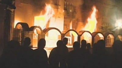 Arrests follow Bulgarian riots