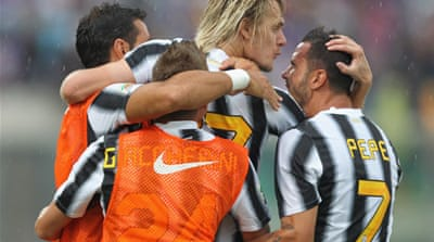 Juve and Udinese share top spot