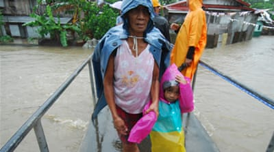 Another Typhoon takes aim at the Philippines