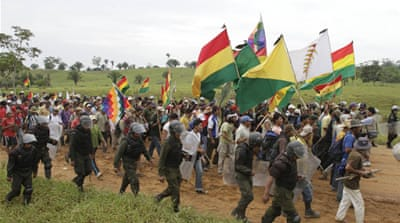 Bolivia to hold referendum on forest road