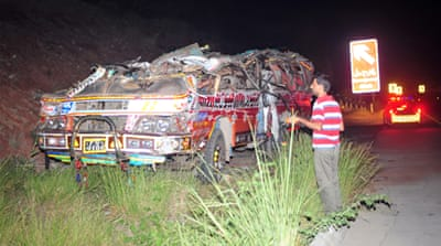 Dozens of students killed in Pakistan crash