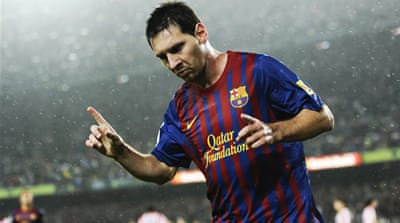 Messi tops Ballon d'Or shortlist