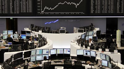 European shares jump on debt plan hopes