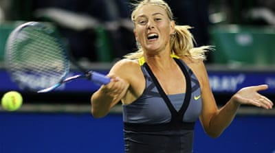 Sharapova retires from Pan Pacific Open