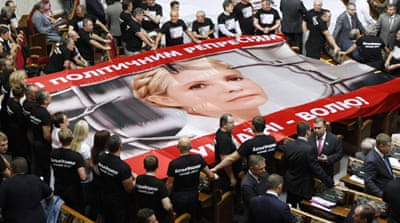 Ukraine's Tymoshenko denounces 'lynch' trial