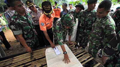 Deaths feared in Indonesia air crash
