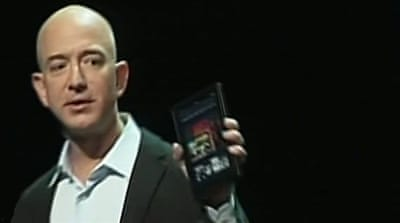 Amazon unveils Kindle Fire tablet