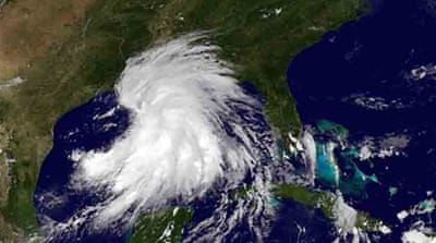 Louisiana braces for tropical storm Lee