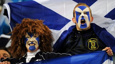 England and Scotland ignite Auld rivalry