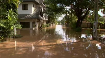 SE Asia floods ravage Thailand's north