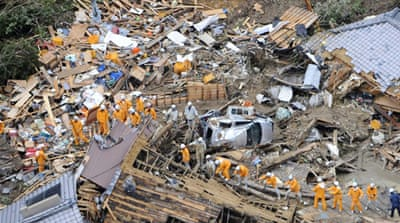 Japan storm leaves deaths in its wake