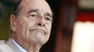 France's Chirac absent as graft trial begins