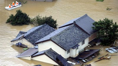Death toll rises from Japanese typhoon