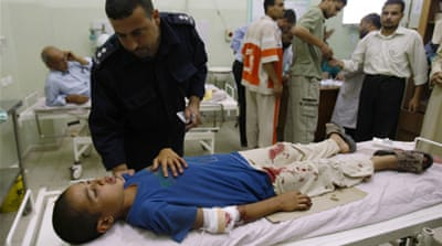 Palestinian 'killed' in Israeli air strike