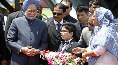 India's PM begins key visit to Bangladesh