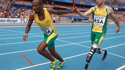 Pistorius is fired up for the Olympics