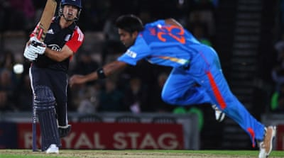 England beat India in second ODI