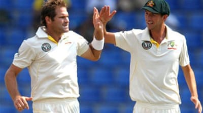 Australia dismiss Sri Lanka on day one