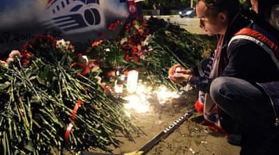 Ice hockey stars killed in Russia air crash