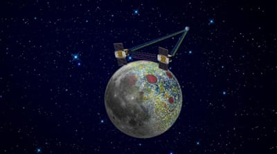 Second NASA probe enters lunar orbit