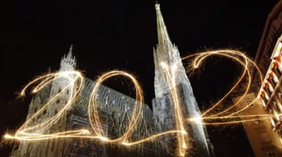 In Pictures: A new year is born