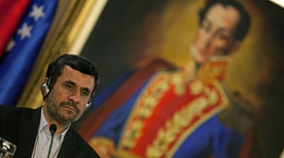 Ahmadinejad contemplates Latin America caliphate