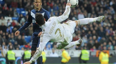 Real Madrid take on Malaga in cup clash