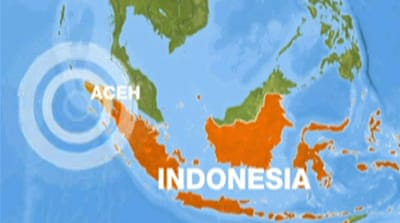 Earthquake rocks western Indonesia